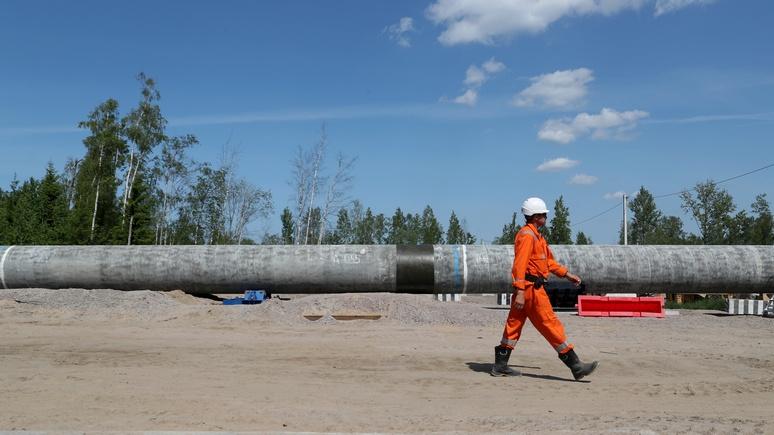Запуск «Северного потока-2» предполагается вовтором полугодии 2020 года