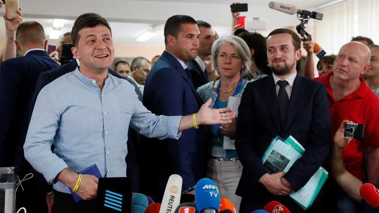 «Опять приравняли неопытность к непорочности»: Die Zeit объяснила, почему украинцы выбрали «Слугу народа»