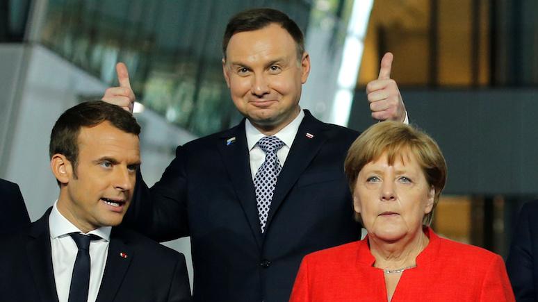 Rzeczpospolita: если со встречей Макрона и Путина всё ясно, то визит главы Франции в Польшу до сих пор под большим вопросом