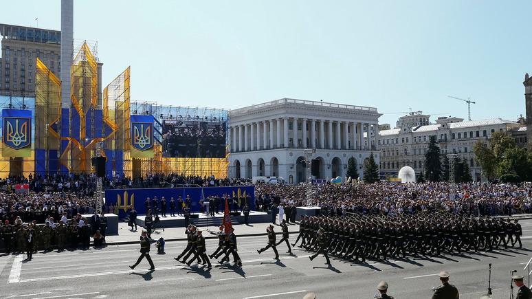 Обозреватель: Украине предрекли переворот из-за отмены военного парада