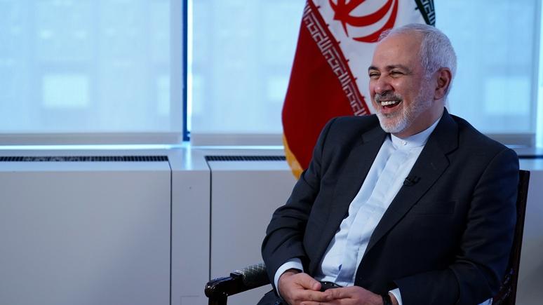 Bild: «бесполезно» — глава МИД Ирана высмеял принятые против него американские санкции