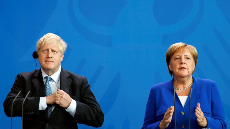 Die Welt: за 10 недель до брексита Джонсон по-прежнему не готов к компромиссу с ЕС