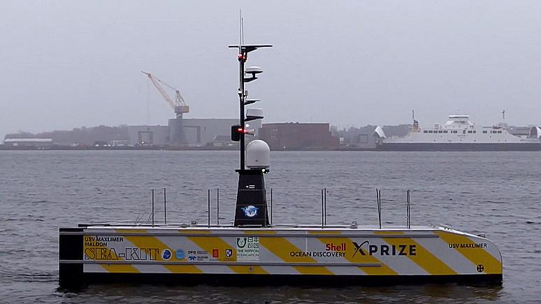 Daily Beast: это изменит мир — корабль без экипажа впервые пересечёт Атлантический океан