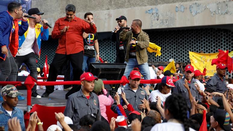 El Periódico: манифест Мадуро против американской блокады Венесуэлы подписали 8 млн человек